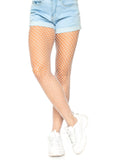 Lady's, Spandex Industrial Net Pantyhose. Leg Avenue 9003 White
