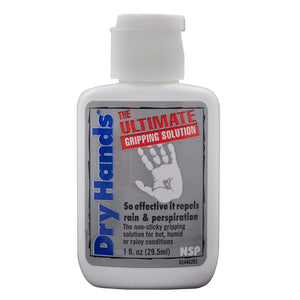 "Dry Hands ""The Ultimate Gripping Solution"" All-Sport Topical Lotion- 1 Ounce."