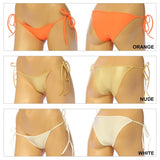 Women's,  Tie Side Full Back Bottom Panty, Thong. (G-14)