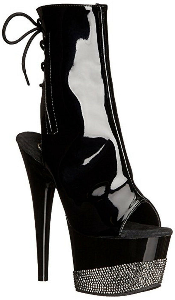 Pleaser ADORE-1018-3 Exotic Dancing Ankle/Mid Calf 7