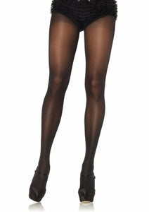 Women's Opaque Sheer To Waist Tights, Pantyhose. Leg Avenue 0992 Black