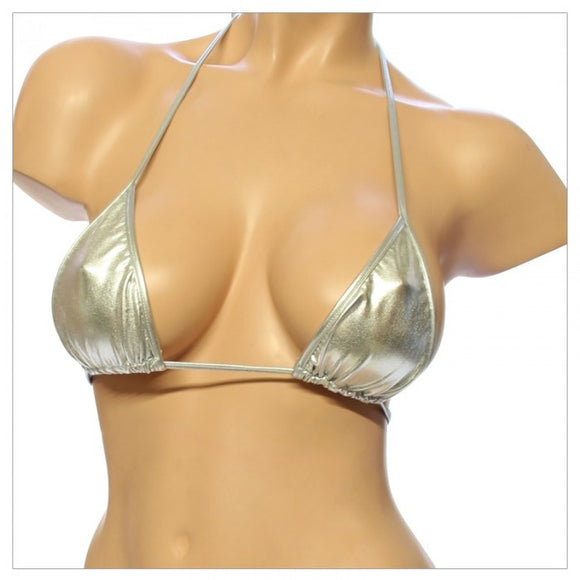T-2L-Liquid Medium Triangle Bikini Top