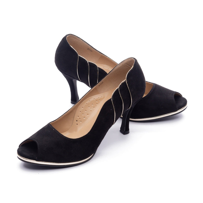 Aylee Heels Madre Collection 35(4) BLACK