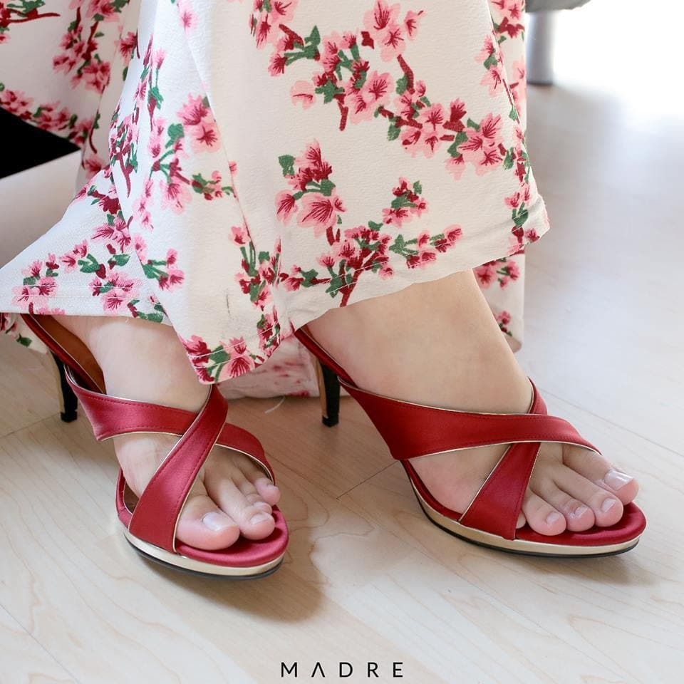 Saloma Heels Madre Collection 35 Red