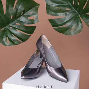 Chloe Heels Madre Collection 40 Grey