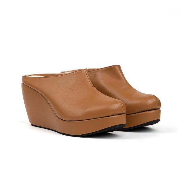 Aleena Wedges Madre 35 Light Brown