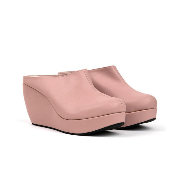 Aleena Wedges Madre 35 Rose Blush