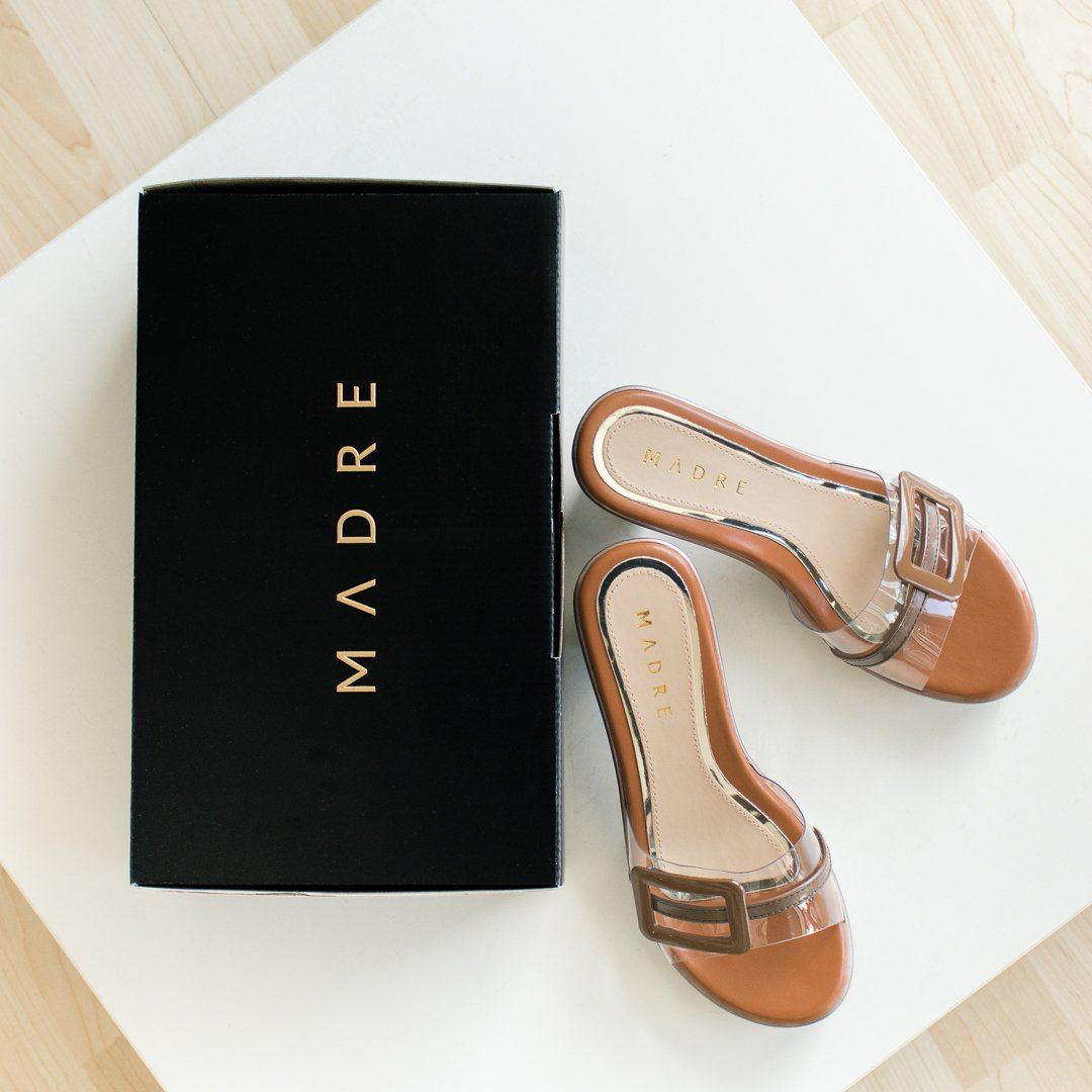 Calyta Heels Madre Collection