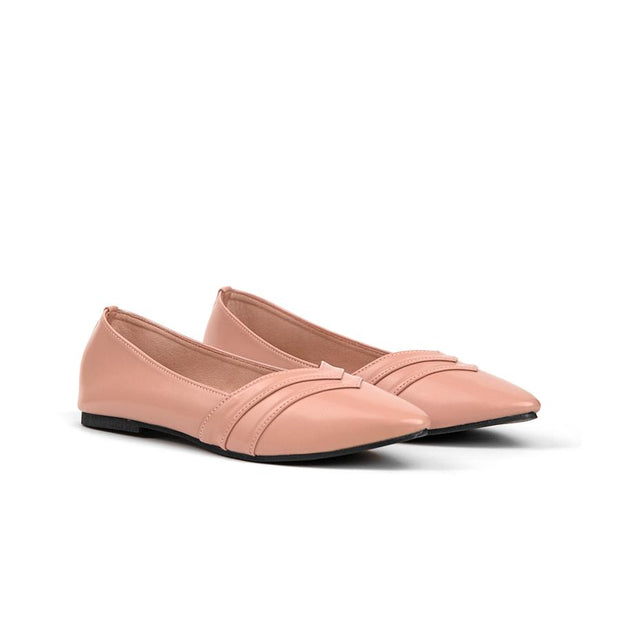 Camilla Flat Shoes Madre 35 Blush