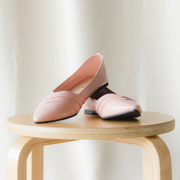 Camilla Flat Shoes Madre Collection 35 Blush