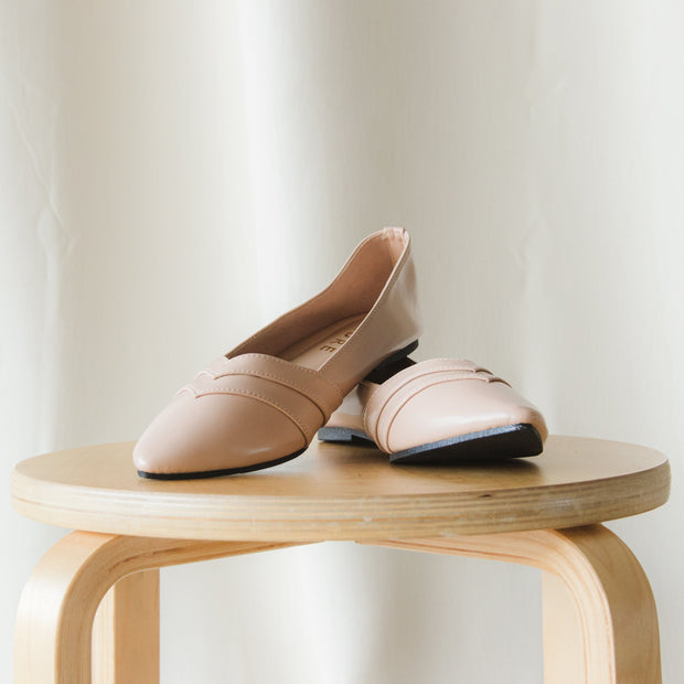 Camilla Flat Shoes Madre Collection 35 Milk Tea