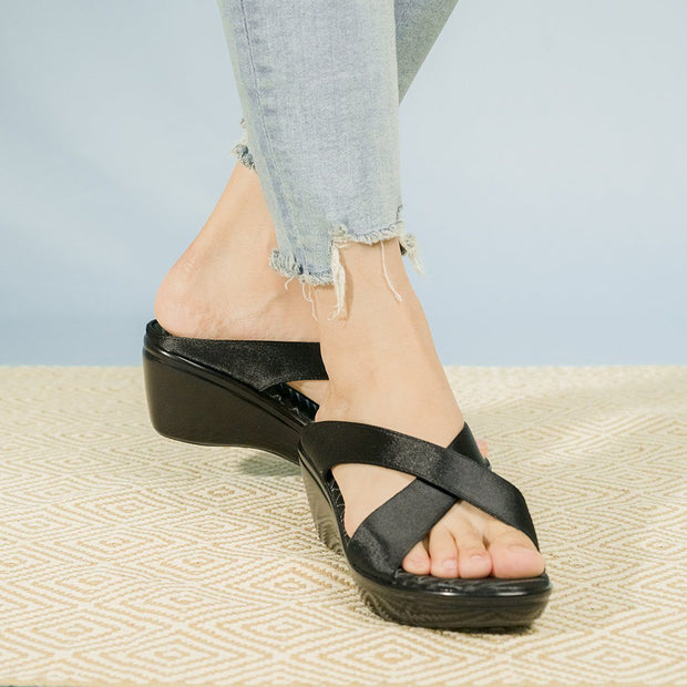 Safya Sandals Madre Collection 36 Black
