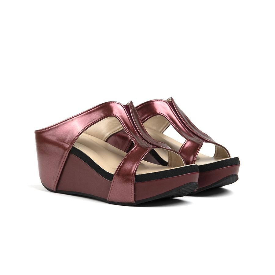 Donna Sandal Madre 36 Maroon