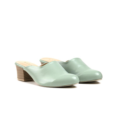 Enola Block Heels Madre 36 Mint Green