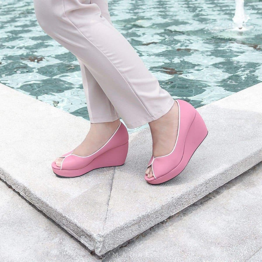 Tania Wedges Madre Collection 35 Pink