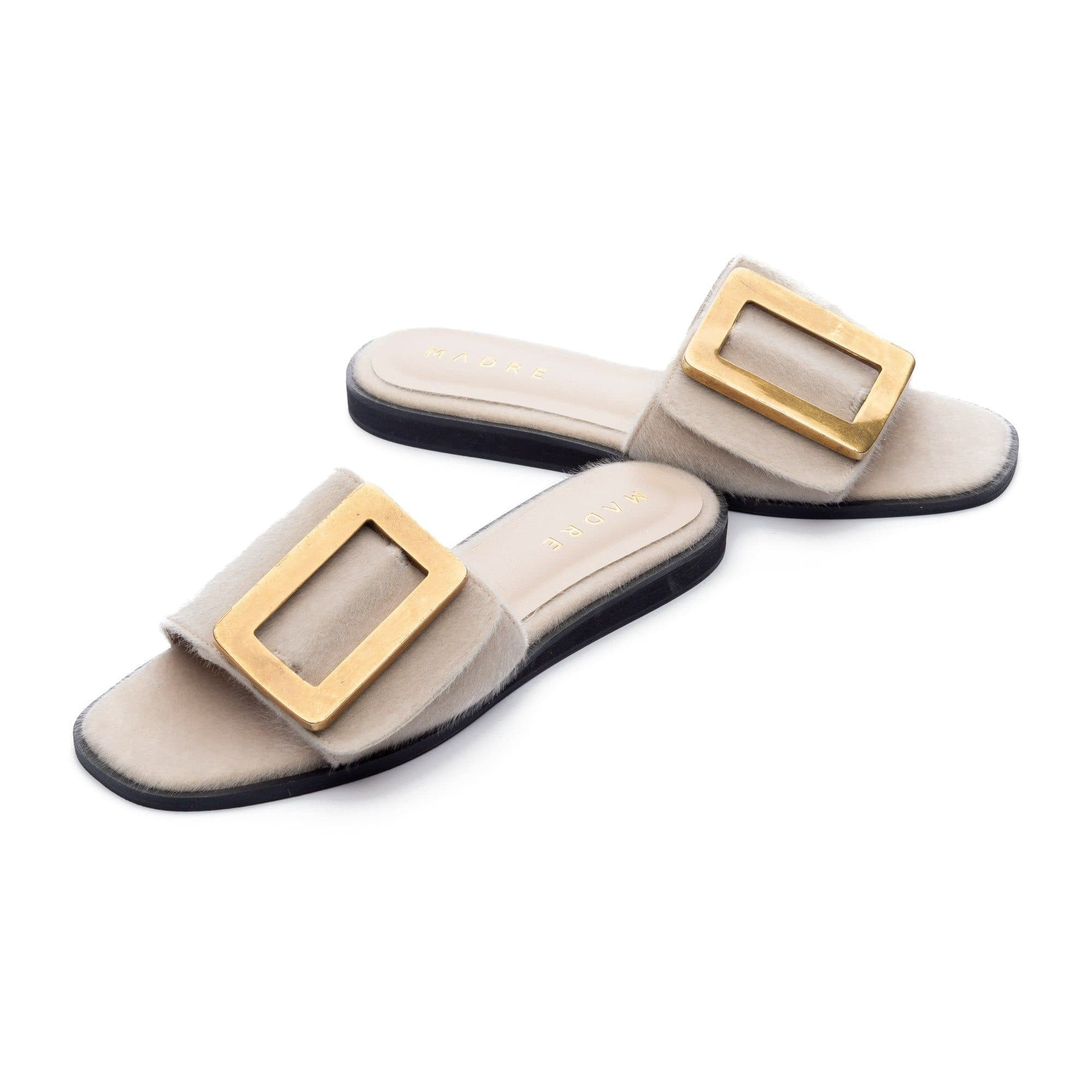 Rustica Flat Shoes Madre Collection 36 White