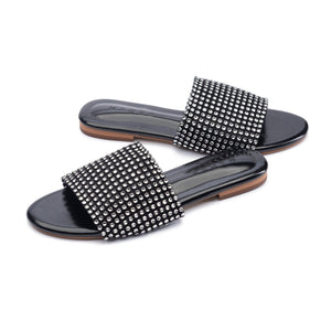 Gamora Flat Shoes Madre Collection 36 Black