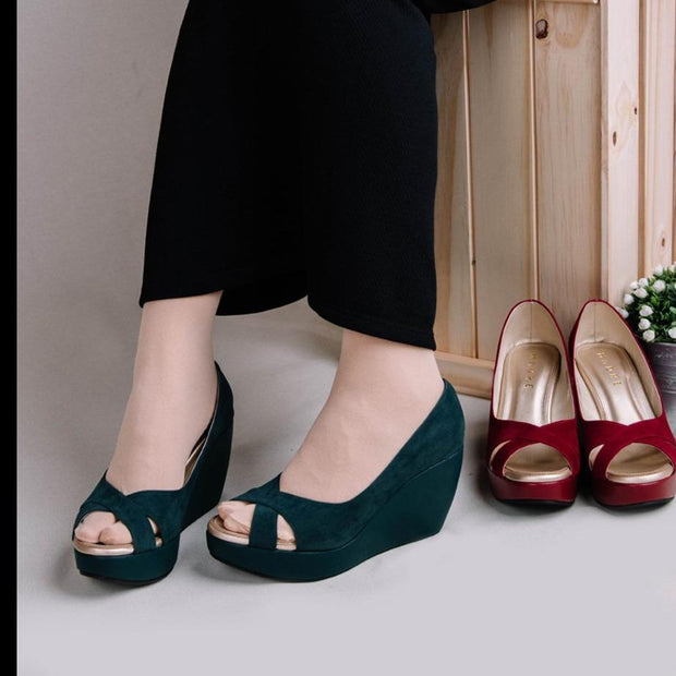 Rossa Wedges Madre