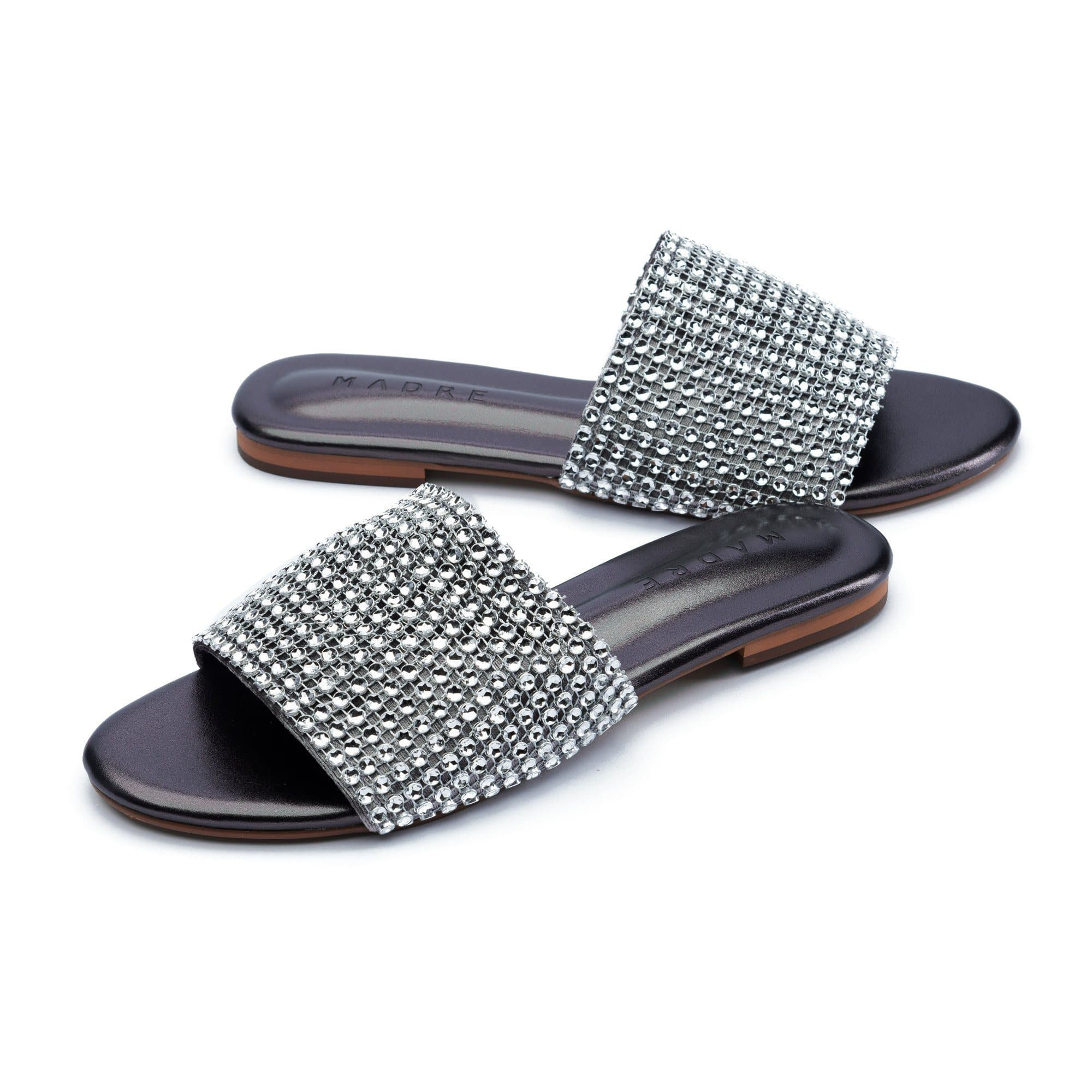 Gamora Flat Shoes Madre Collection 36 Silver