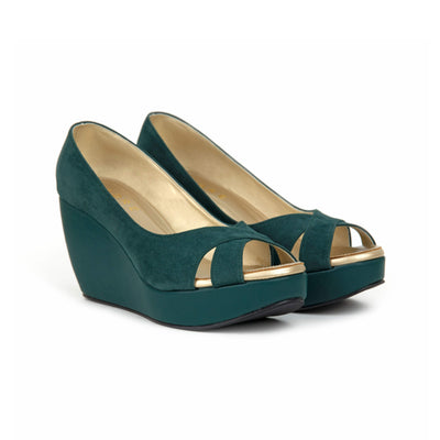 Rossa Wedges Madre 35 Emerald Green
