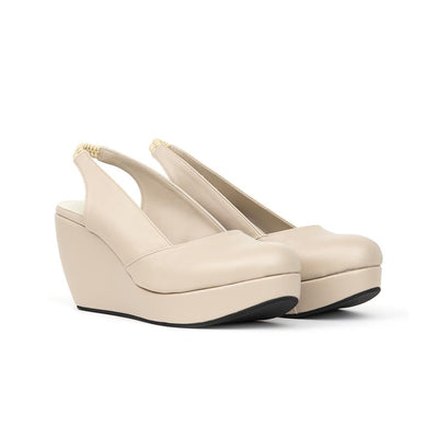 Reana Wedges Madre 35 Beige