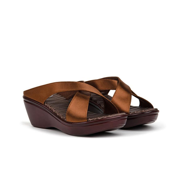 Safya Sandals Madre 36 Dark Brown