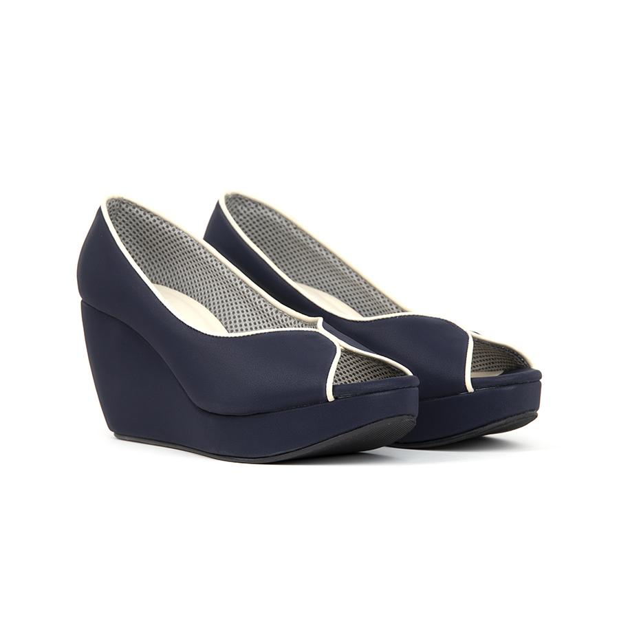 Tania Wedges Madre 35 Blue