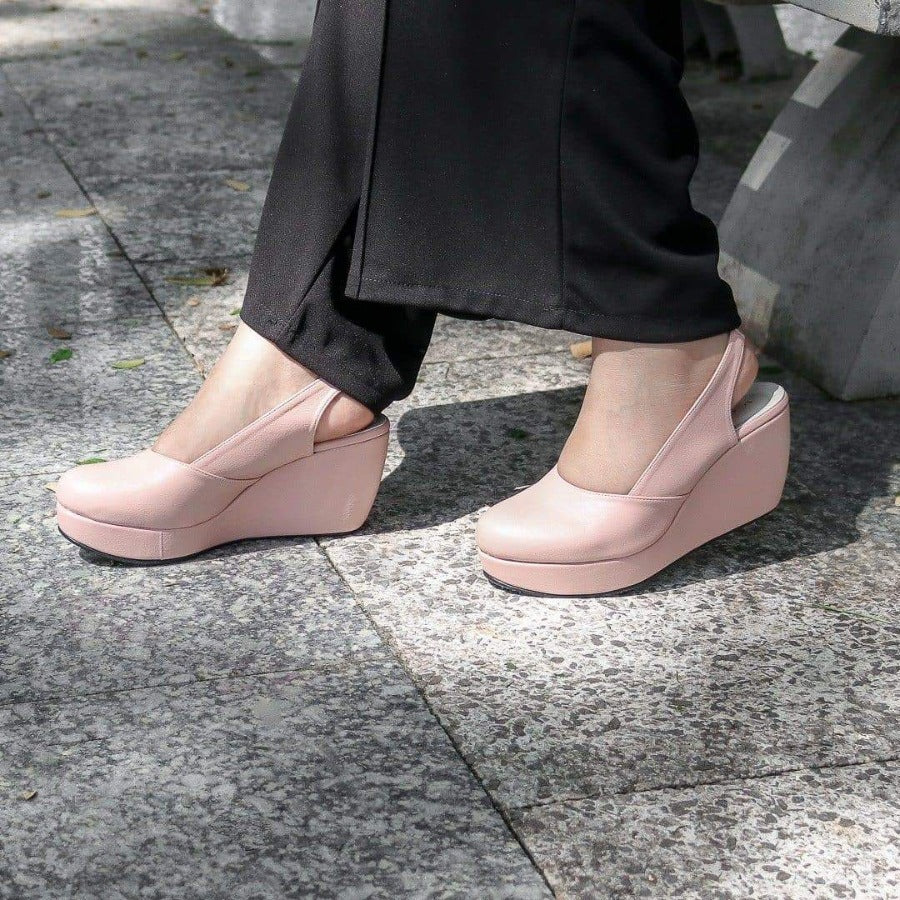 Reana Wedges Madre Collection 35 Soft Pink
