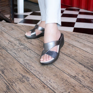 Inara Sandal Madre Collection 36 Grey