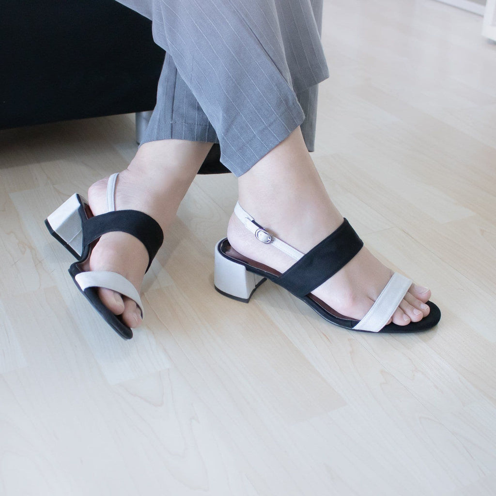 Trizz Block Heels Madre Collection