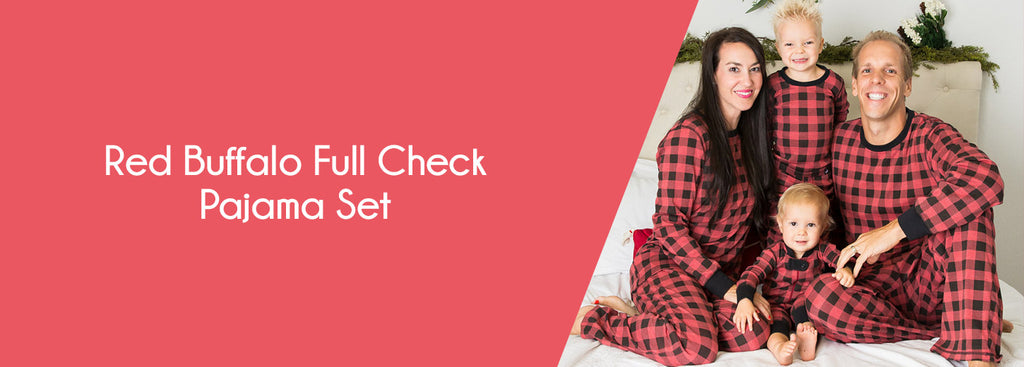 Red Buffalo Full Check Pajama Set