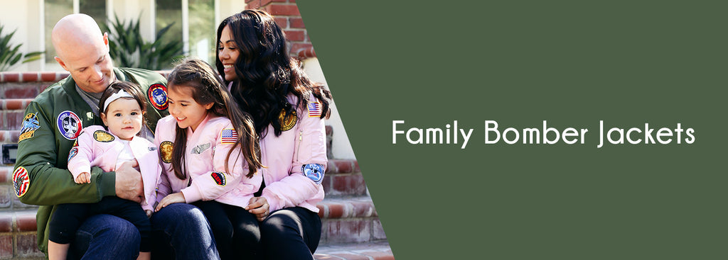 Family Bomber Jackets