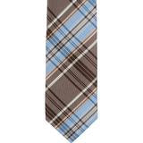 XB42 - Blue/Brown Plaid Matching Tie