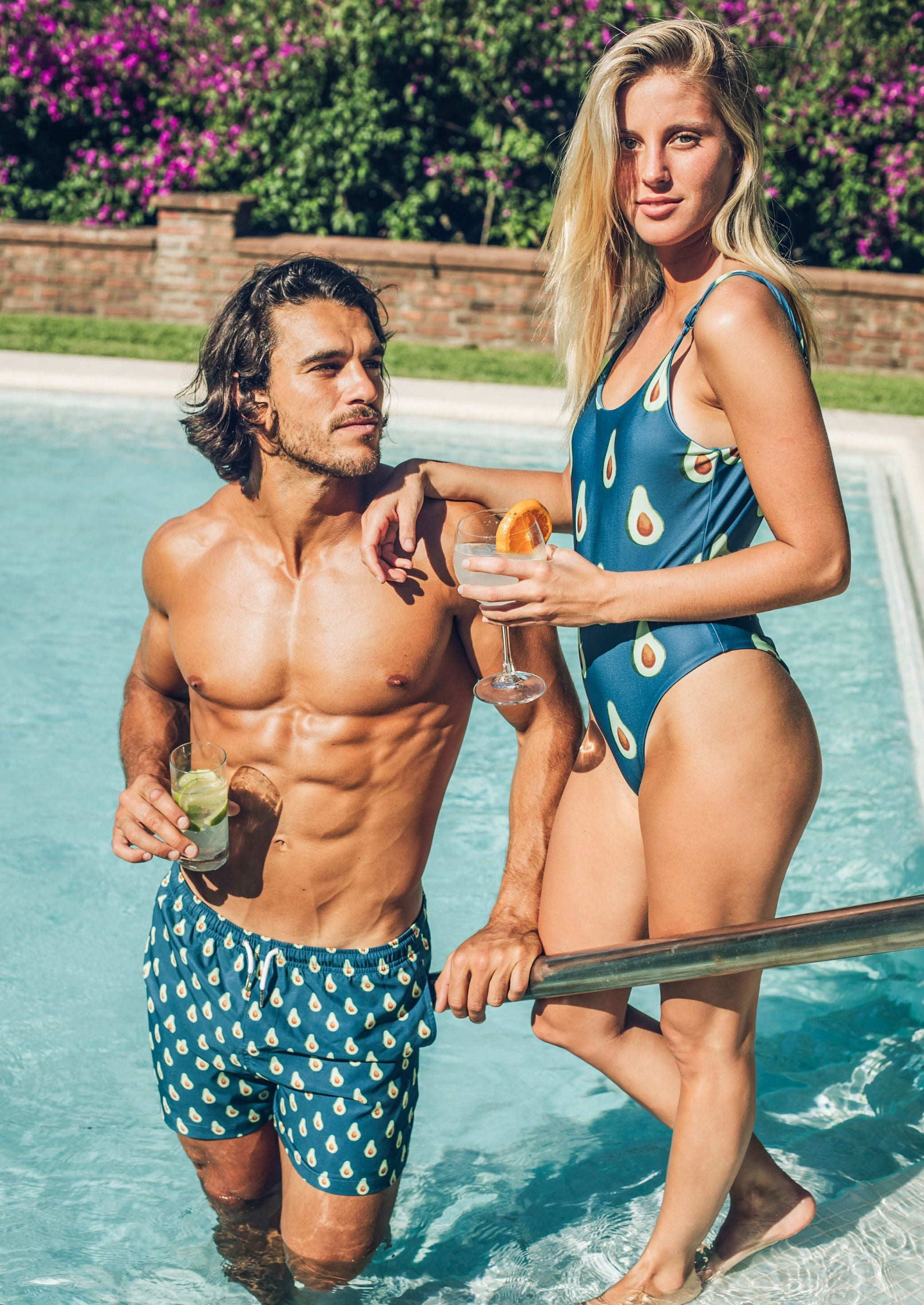 matching swimsuits for couples