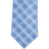 XB38 - Light Blue Plaid Matching Tie