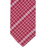 XR52 - Red & White Small Plaid Matching Tie
