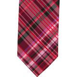 XR53 - Red & Black Plaid Matching Tie