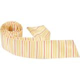 Y2 - Yellow with White and Pink Stripes Matching Tie