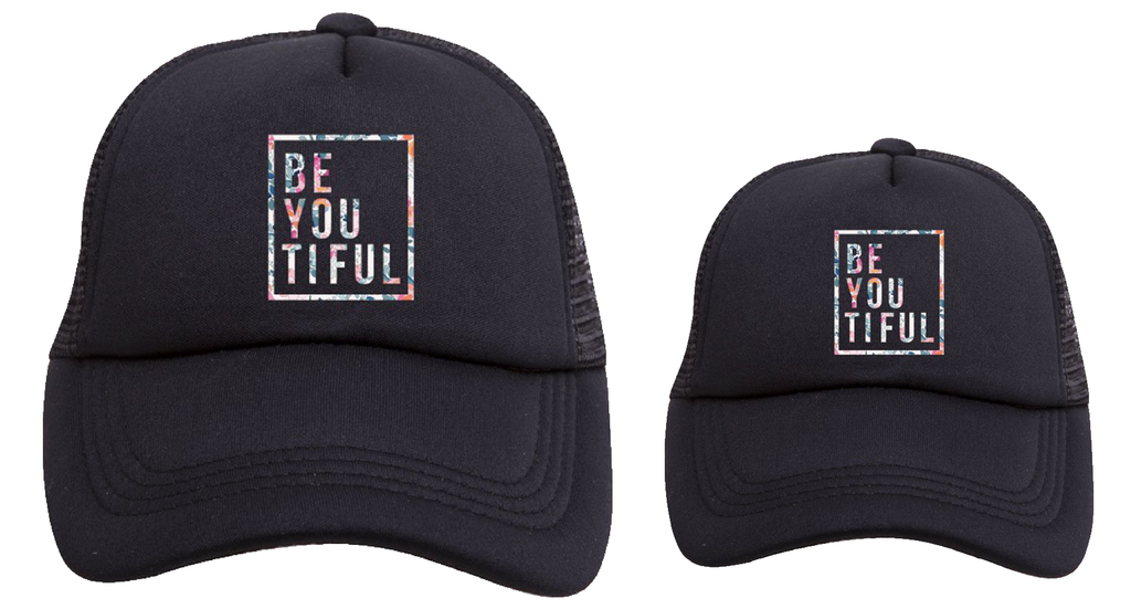 BE-YOU-TIFUL Matching Trucker Hats