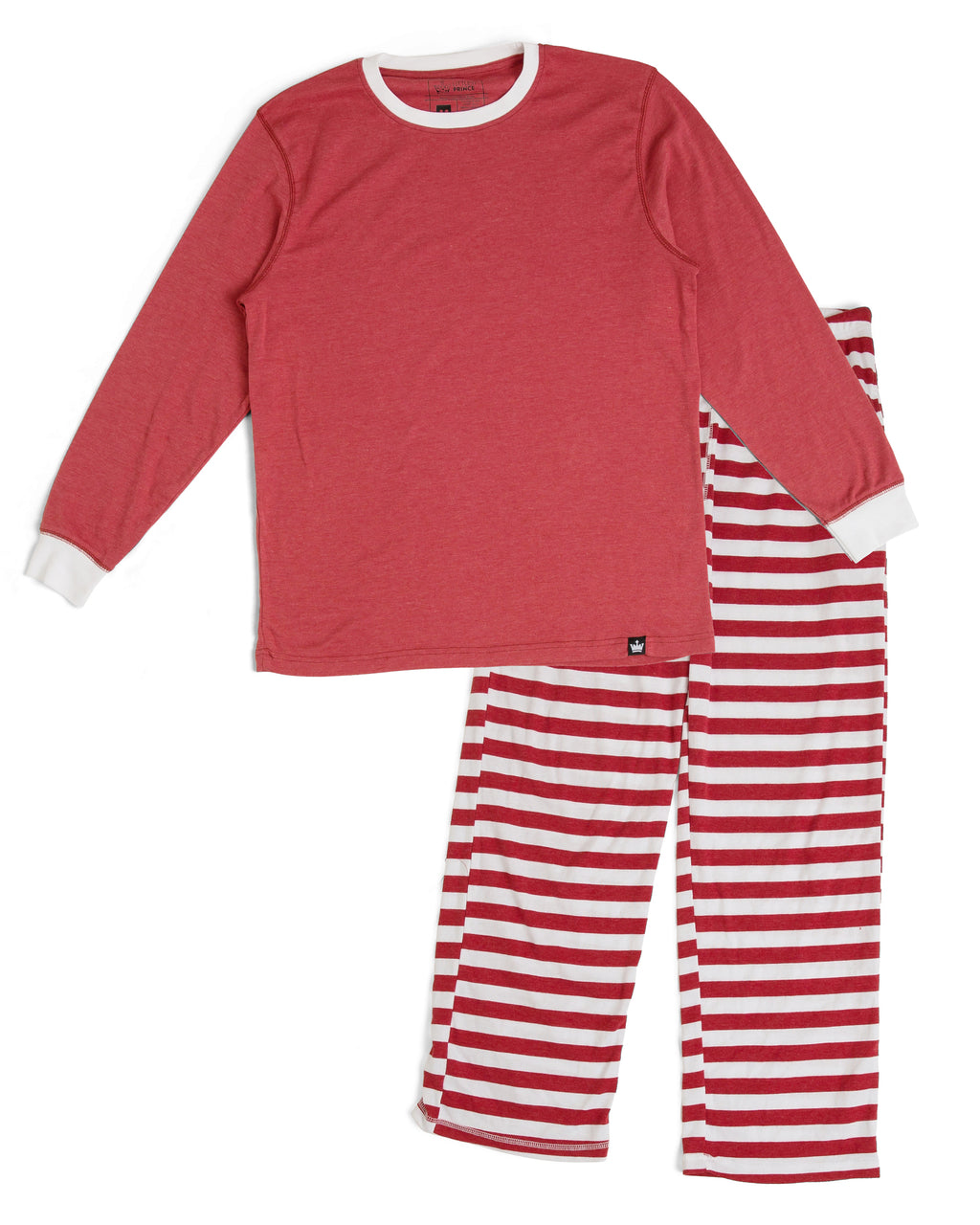 0a49e7a3af Candy Cane Red Stripe Men s Pajama Set - Red Top  Matching Family Paja – Twinsies  Rock