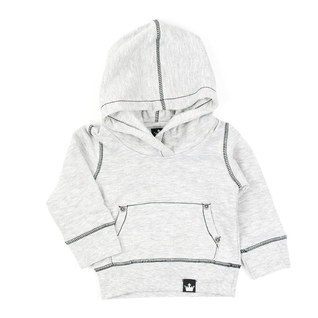 Jacob Gray Pullover Hoodie