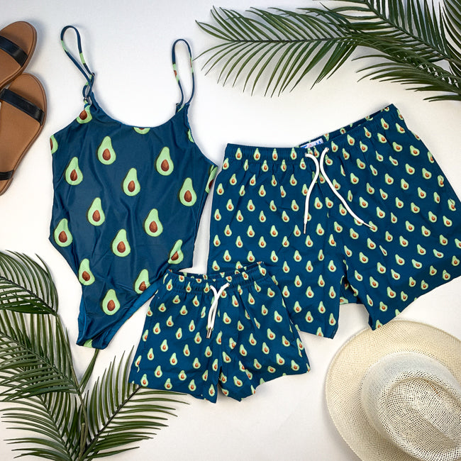 AVOCADO Matching Swimsuits - Bermies