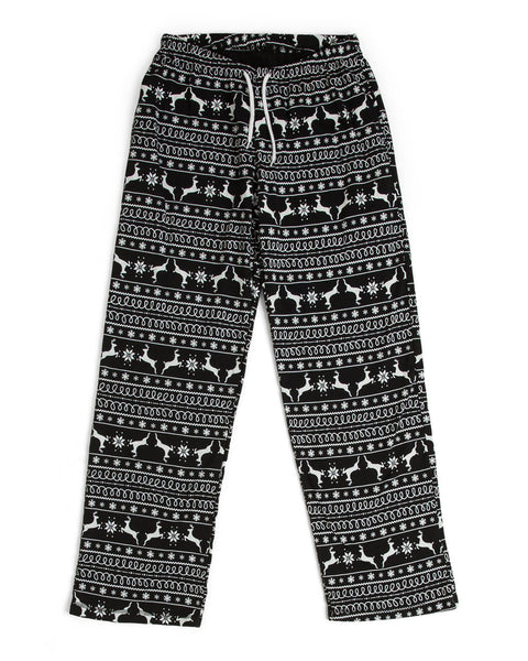 800eccedc9 Black Nordic Reindeer Men s Full Pajama Set  Matching Family Pajamas  – Twinsies  Rock