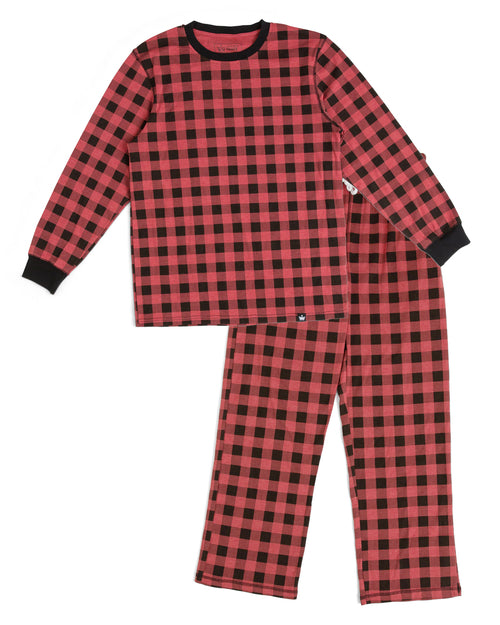 6179af833f Black Nordic Reindeer Kids  Pajama Full Set  Matching Family Pajamas ...