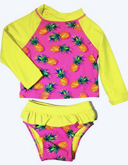 MIAMI PINEAPPLE - DADDY+ME - Matching Swimsuits