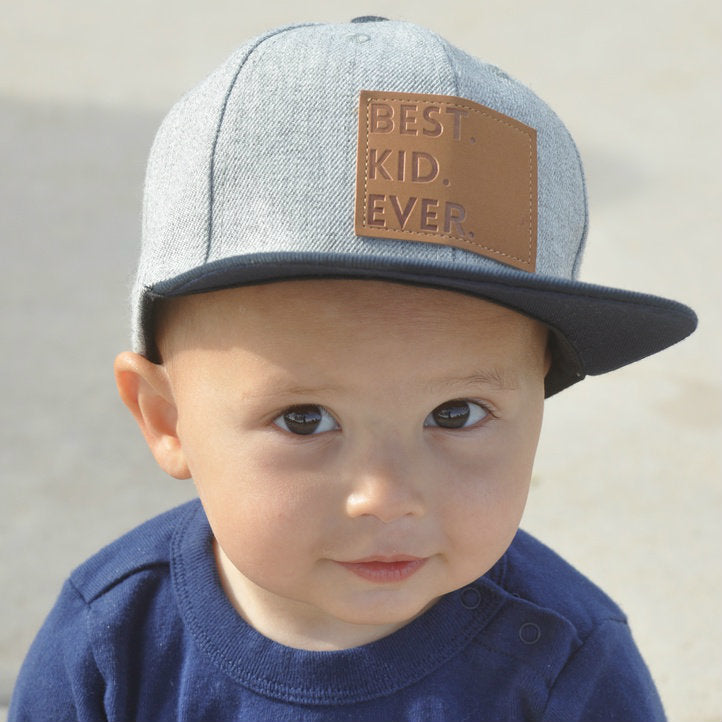 Elijah Gray Best Kid/Best Dad Ever Snapback Hat