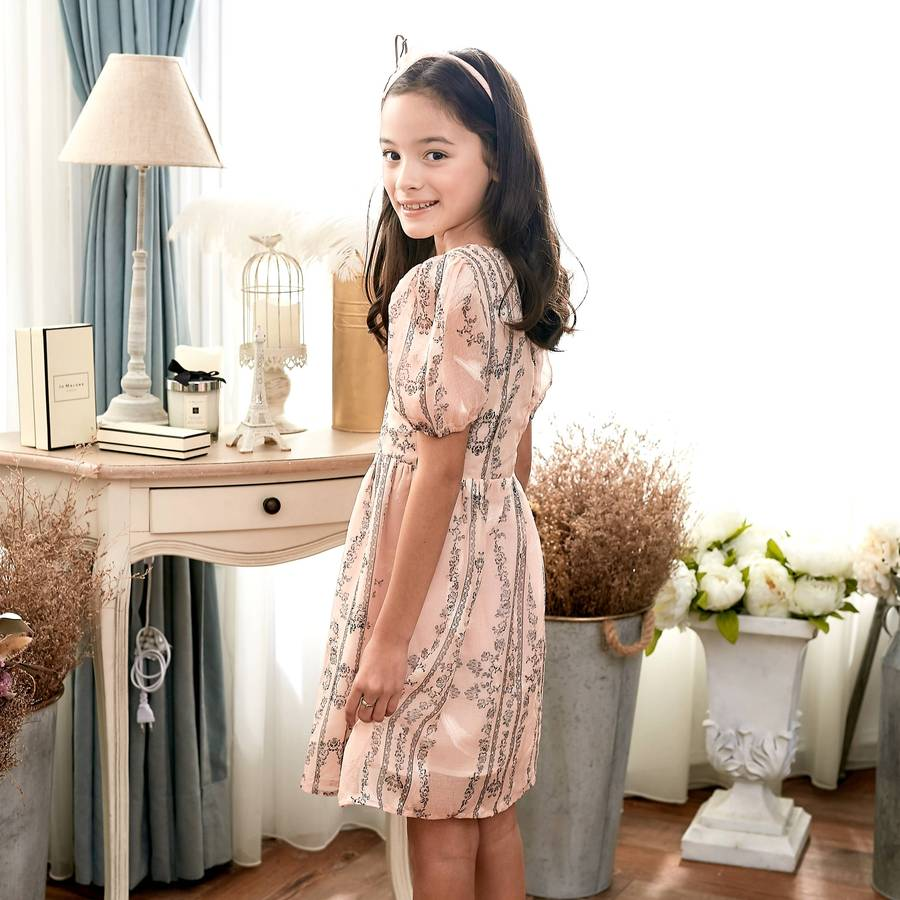 Blooming Blush Floral Fit and Flare Dress - Mommy and Me