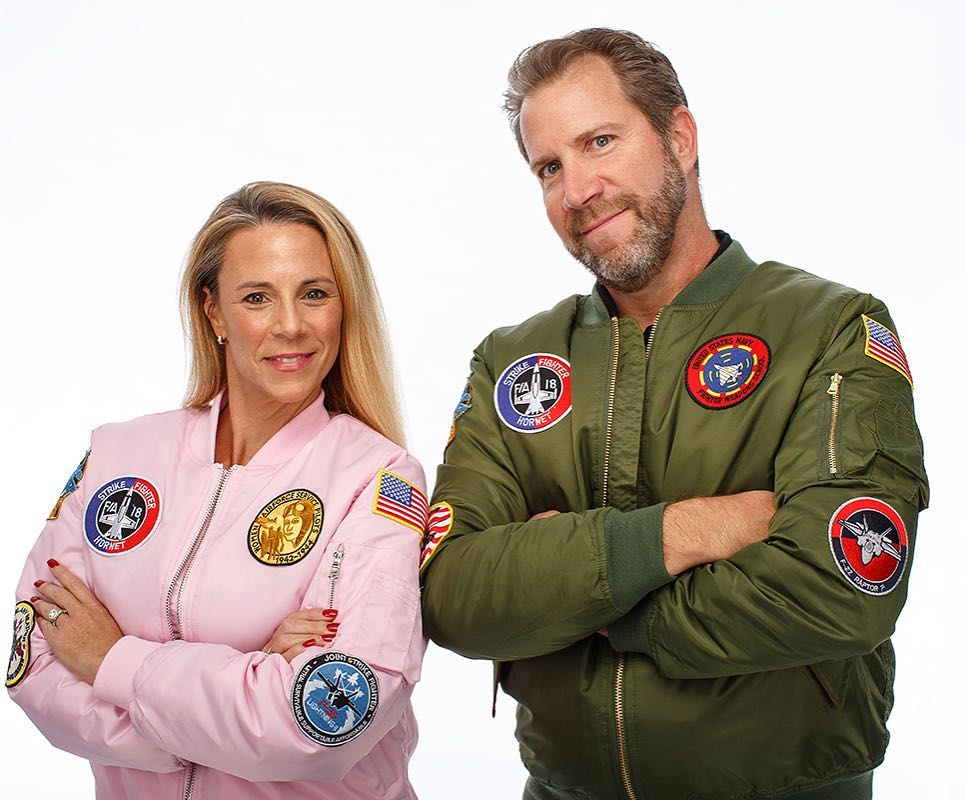 MA-1 Pink Flight Jacket | Bomber Jacket - Mommy and Me Matching - Ladies and Girls