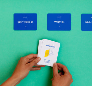 Purpose Cards — Werte