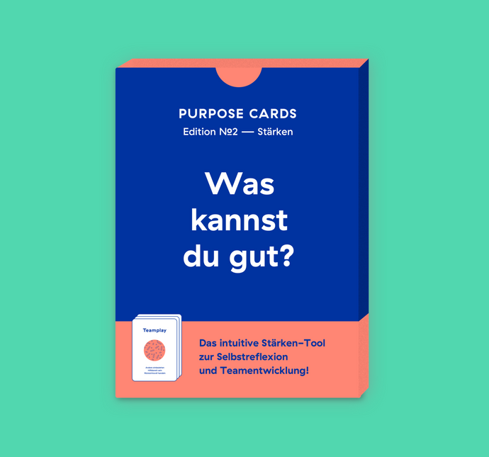 Purpose Cards — Stärken